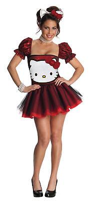 Hello Kitty Rot Erwachsene Damen Verkleidung Sanrio Rubies 889962 Halloween