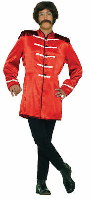 Beatles British Explosion Red Adult Mens Costume Concert Legend Halloween Party