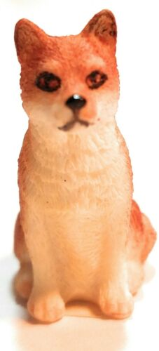 World of Dogs Collection Shiba Inu (Tan) Resin Figurine 1″ tall