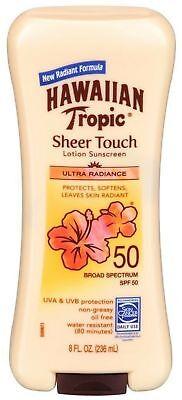 Hawaiian Tropic Sheer Touch Lotion SPF 50 Sunscreen-8 oz
