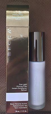BECCA First Light Priming Filter Instant Refresh Primer - Full Size 1oz - in BOX