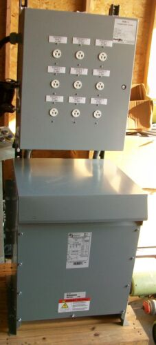 Hammond Power Transformer NMK030DB  240V P  208/120 S  30KVA   NEW