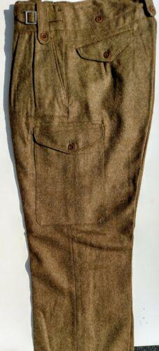 British WWII Style P1949 Wool Battle Dress Trousers