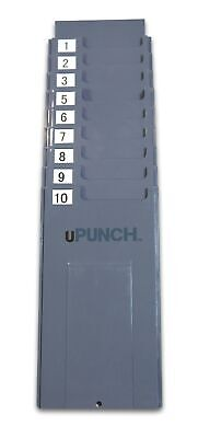Upunch Hntcr10 Time Card Rack 10 Slots