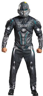 Spartaner Locke Muskel Erwachsene Herren Overall Kostüm Halloween Verkleidung