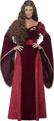 Mittelalterliche Königin Liz Kostüm Deluxe - Mittelalterliche Kostüm