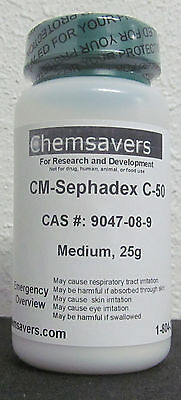 Cm-sephadex C-50 Medium Certified 25g