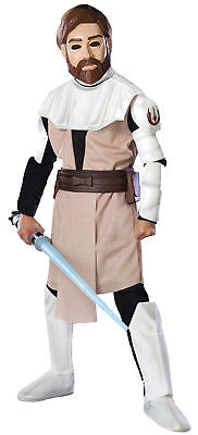 Star Wars Obi Wan Kenobi Deluxe Kinder Kostüm Film Jungen Thema Party Halloween