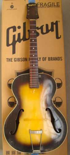 1943 Epiphone Olympic Acoustic Archtop