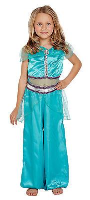 GIRLS ARABIAN PRINCESS BOLLYWOOD INDIAN PRINCESS FANCY DRESS COSTUME
