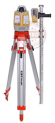 Topcon Rl-vh4dr Self-leveling Rotary Laser Level Package Spectra Hilti