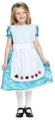 �m Wunderland Outfit Ages 4-12 Jahre Büchertag Neu (Alice Im Wunderland Kostüm)