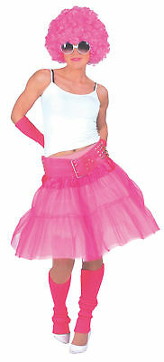 Material Girl Pink Skirt Adult Womens Costume Madonna 80s 1980s Halloween