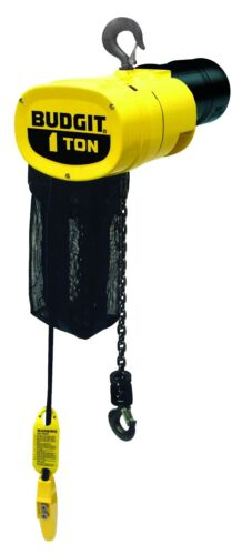New Budgit 1-Ton Electric Chain Hoist - 115 Volts