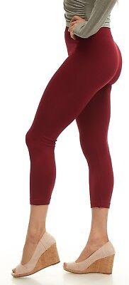 Leggings for Women LMB Basic Seamless Capri Length in Many Colors Halloween lot