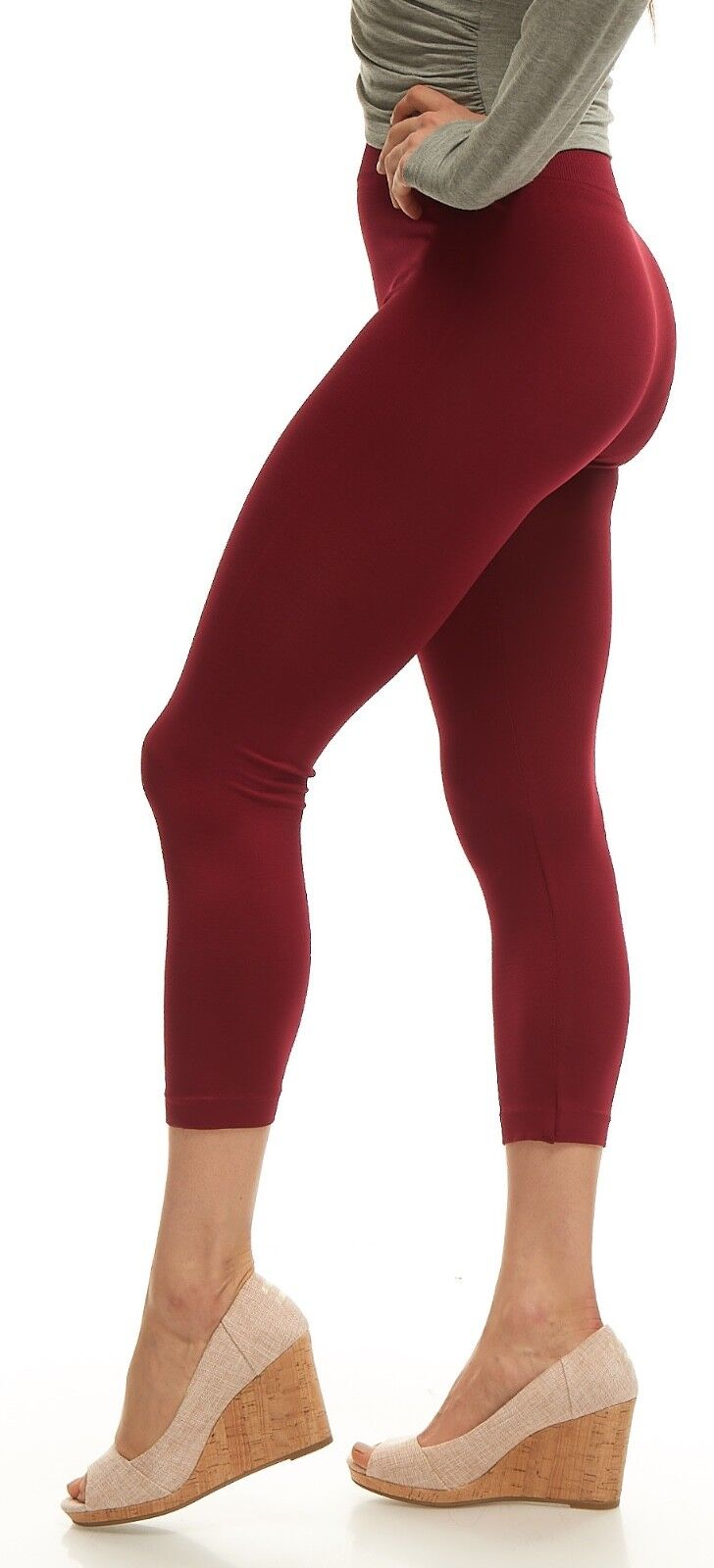 Leggings for Women LMB Basic Seamless Capri Length in Many Colors Halloween lot Clothing, Shoes & Accessories