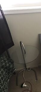 Side table (glass) $20