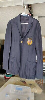 New Polo Ralph Lauren Cotton Linen Blazer Jacket 40R