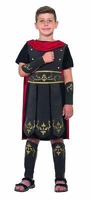 Boys Roman Soldier Costume Kids School Book Week Gladiator Fancy Dress Outfit ()