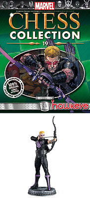HAWKEYE figurine~Marvel Chess Collection #19~Eaglemoss~statue~hero pawn~NIP for sale  Berkeley Heights