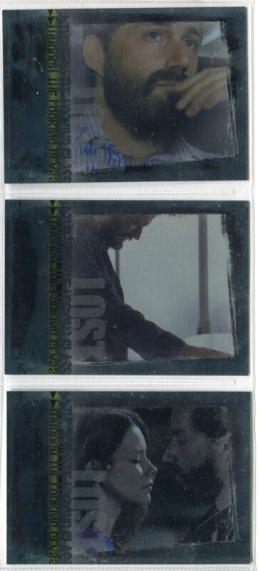 """Lost Season 3 Three - """"Through the Looking Glass"""" Set of 3 Chase Cards #LG1-LG3"""
