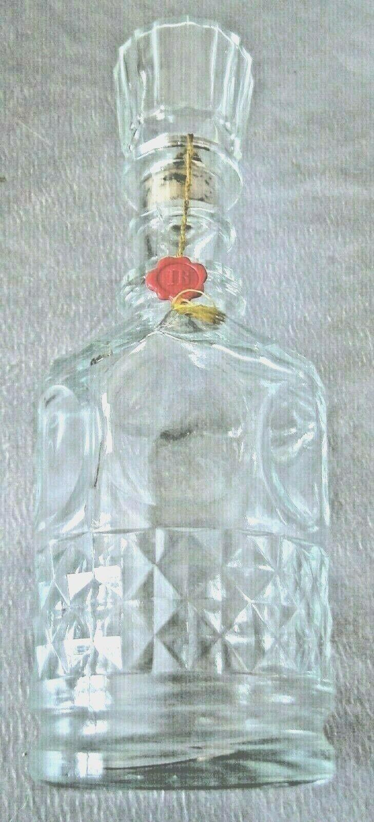 Bouteille carafe à whisky  vide ancienne j & b