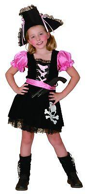 Girly Piratenkostüm für Mädchen - Girly Mädchen Kostüm