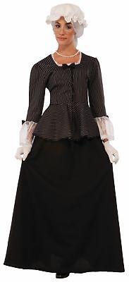 Martha Washington Adult Costume Fancy Dress First Lady Women George Colonial Std