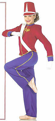 Toy Soldier Christmas Nutcracker Ringmaster Ballet Dance Costume Child Sizes (Ringmaster Costume Child)