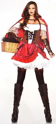 Leg Avenue Rebel Red Riding Hood Large Sexy Halloween Costume Dress Cape - Red Riding Hood Cape