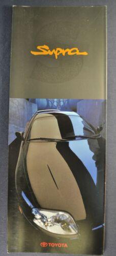 1993-1994 Toyota Supra Turbo Coupe Sales Brochure Folder Excellent Original