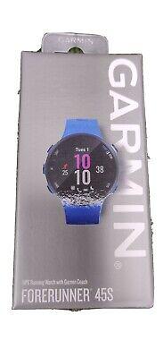 New Garmin Forerunner 45S GPS Running Watch W/Garmin Coach Purple/Lavender