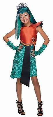 Girls Nefera de Nile Costume Monster High Halloween Fancy Dress Kids Child S M L](Girls Monster High Halloween Costumes)