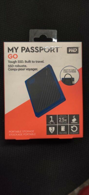 Western Digital My Passport Go 1TB SSD Black/Blue