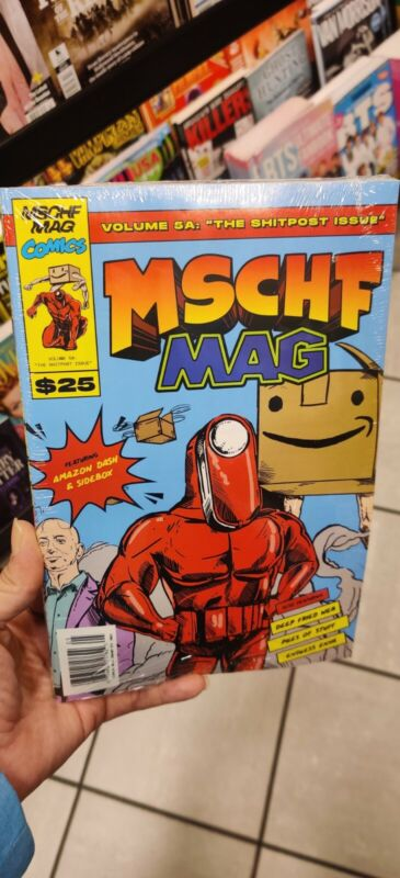 MSCHF MAG Vol. 5 Brand New In Hand Mischief