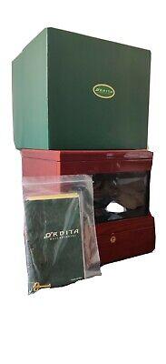Orbita 4 Watch Winder Mohagany Wood Glass Case W Manuals and original box