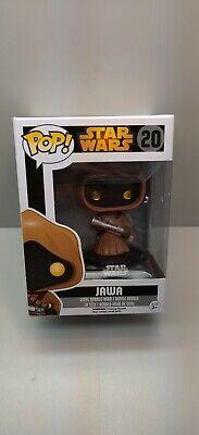 Funko Pop! Figure Star Wars #20 Jawa Black Box Rare Vaulted Vinyl Figure