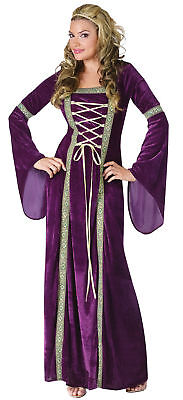 Renaissance Lady Adult Womens Medieval Costume Dress Elegant Medieval - Renaissance Lady Adult Kostüm