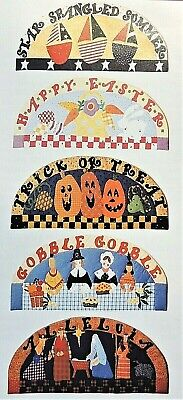 Halloween Quilt Patterns (5 Welcome Holidays Quilt Patterns Easter Christmas Thanksgiving Halloween July)