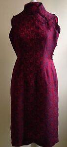 Pure Silk Dress ( Chinese Style)