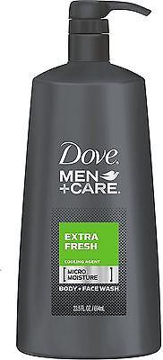 Dove Men+Care Body + Face Wash, Extra Fresh, 23.5 oz