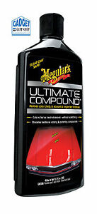 Meguiars Ultimate Compound - removes oxidisation , swirl marks and scratches