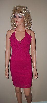 Victoria Secret Moda Rose Dream Lace Halter Dress XS - Victoria Rose Dresses