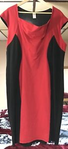 Body Shaping Red Dress 2xl