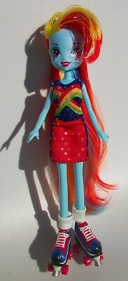 My Little Pony Equestria Girls Rainbow Dash Doll Bratz Roller Skates Shoes - Rainbow Dash Shoes