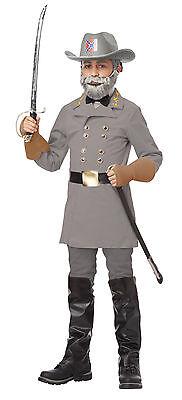 Confederate Army General Robert E. Lee Child Costume (Robert E Lee Costume)