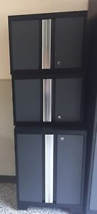 NewAge Bold series Garage Cabinets with Bamboo Counter