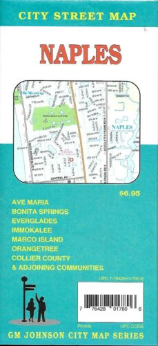 City Street Map of Naples, Florida, by GMJ
