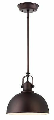 Oil Rubbed Bronze 1 Cheer up Mini Pendant with Metal Shade Kitchen Dining and Bar
