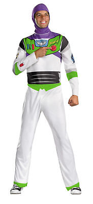 Disney-toy Story Kostüme (Buzz Lightyear Classic Adult Costume Disney Toy Story Astronaut Space Disguise)